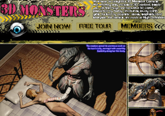 3D Monster Pics